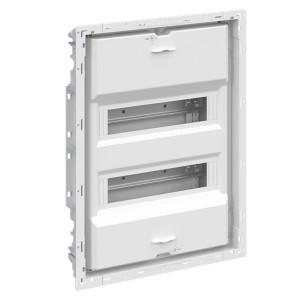 Шкаф внутреннего монтажа АВВ на 24М без двери с винтовыми клеммниками N/PE UK624EB