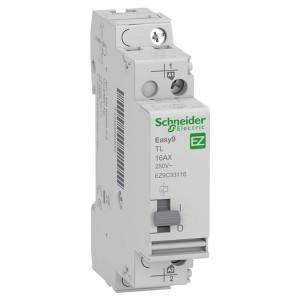Импульсное реле Schneider Electric Easy9 TL 16A 1 полюс 1НО 230В АС 50ГЦ 1 модуль