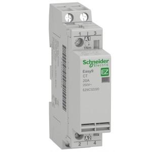 Модульный контактор Easy9 СТ Schneider Electric 20A 2 полюса 2НО  220/230В АС 50ГЦ 1 модуль