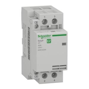 Модульный контактор Easy9 СТ Schneider Electric 40A 2 полюса 2НО  220/230В АС 50ГЦ 2 модуль