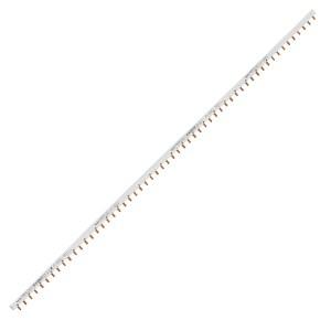 Гребенчатая шина 2-полюсная (L1L2) 57 модулей шаг 18мм 63А Easy9 Schneider Electric разрезаемая