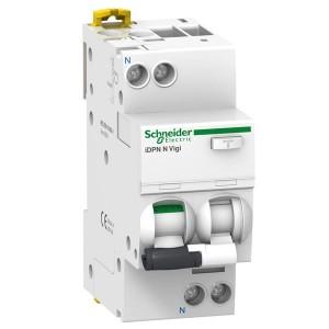 Дифференциальный атомат Schneider Electric iDPN N VIGI 6кА 10A C (тип АС) 30мA