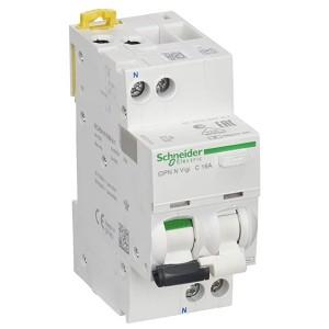 Дифференциальный атомат Schneider Electric iDPN N VIGI 6кА 16A C (тип АС) 30мA