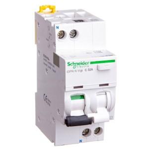 Дифференциальный атомат Schneider Electric iDPN N VIGI 6кА 32A C (тип АС) 30мA