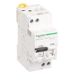 Дифференциальный атомат Schneider Electric iDPN N VIGI 6кА 40A C (тип АС) 30мA