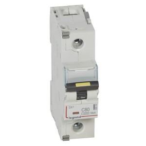 Автоматический выключатель Legrand DX3 1П C80A 10kA/16kA 1,5 модуля (автомат)