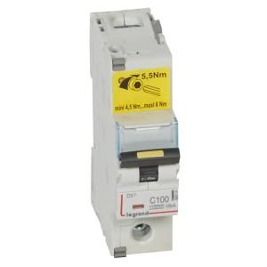 Автоматический выключатель Legrand DX3 1П C100A 10kA/16kA 1,5 модуля (автомат)