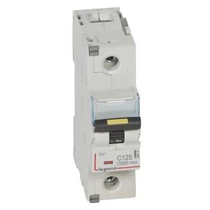 Автоматический выключатель Legrand DX3 1П C125A 10kA/16kA 1,5 модуля (автомат)