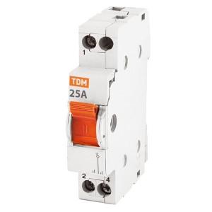 Модульный переключатель трехпозиционный МП-63 1P 25А TDM