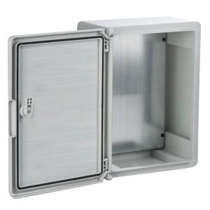 Щит пластиковый ЩПМП-0-1 ABS IP65 -45С/+75С навесной с монтажной панелью, (300х200х130) TDM