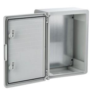 Щит пластиковый ЩПМП-0-10 ABS IP65 -45С/+75С навесной с монтажной панелью, (500х400х240) TDM