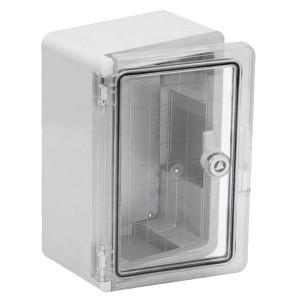 Щит ЩМП-0-1 прозрачная крышка, ABS IP65 -45С/+75С навесной с монтажной панелью, (300x200x130) TDM