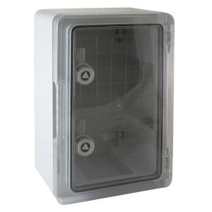 Щит ЩМП-0-2 прозрачная крышка, ABS IP65 -45С/+75С навесной с монтажной панелью, (350x250x150) TDM
