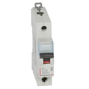 Автоматический выключатель Legrand DX3 1П C10A 10kA 1 модуля (автомат)
