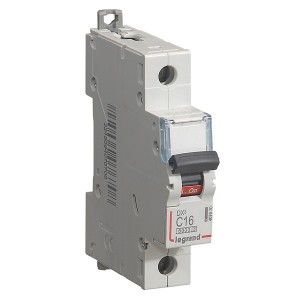 Автоматический выключатель Legrand DX3 1П C16A 10kA 1 модуля (автомат)