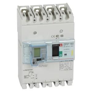 Дифференциальный автомат Legrand DPX3 160 4P 80А тип А селективный 16kA