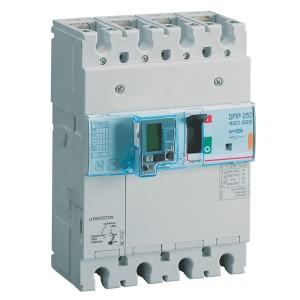 Дифференциальный автомат Legrand DPX3 250 4P 100А тип А селективный 25kA