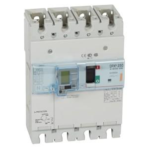 Дифференциальный автомат Legrand DPX3 250 4P 200А тип А селективный 25kA