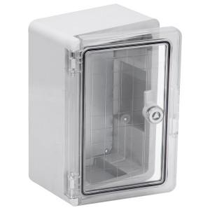 Корпус пластиковый ЩМПп 300х200х130мм прозрачная дверь УХЛ1 IP65 ИЭК