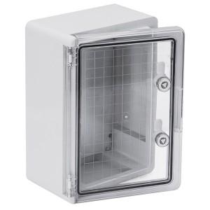 Корпус пластиковый ЩМПп 350х250х150мм прозрачная дверь УХЛ1 IP65 ИЭК
