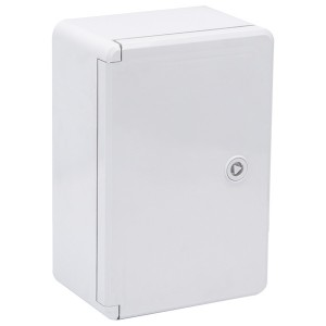 Корпус пластиковый ЩМПп 300х200х130мм серая дверь УХЛ1 IP65 ИЭК