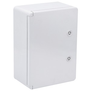 Корпус пластиковый ЩМПп 350х250х150мм серая дверь УХЛ1 IP65 ИЭК