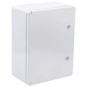 Корпус пластиковый ЩМПп 400х300х170мм серая дверь УХЛ1 IP65 ИЭК