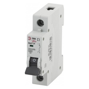 Автоматический выключатель ВА47-29 1Р 1А 4,5кА характеристика В ЭРА Pro (NO-902-163) (автомат)