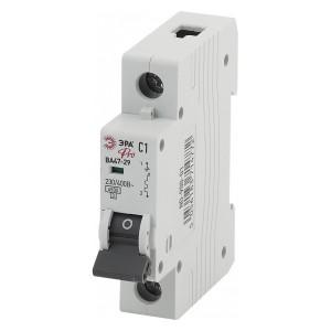 Автоматический выключатель ВА47-29 1Р 1А 4,5кА характеристика C ЭРА Pro (NO-900-01) (автомат)