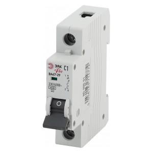 Автоматический выключатель ВА47-29 1Р 16А 4,5кА характеристика C ЭРА Pro (NO-900-12) (автомат)