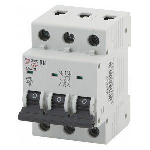 Автоматический выключатель ВА47-29 3Р 50А 4,5кА характеристика D ЭРА Pro (NO-901-42) (автомат)