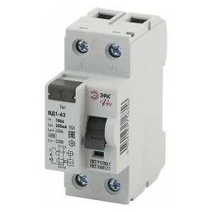 УЗО ВД1-63 электромеханическое 1Р+N 100А 300мА тип АС ЭРА Pro (NO-902-60)