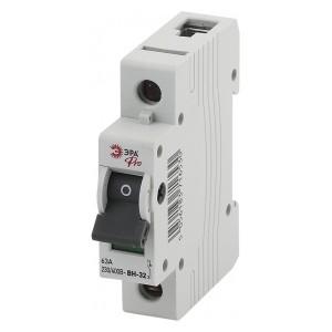 Выключатель нагрузки (мини-рубильник) ВН-32 1P 63A ЭРА Pro (NO-902-89)