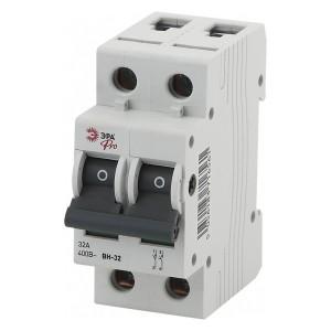 Выключатель нагрузки (мини-рубильник) ВН-32 2P 32A ЭРА Pro (NO-902-92)