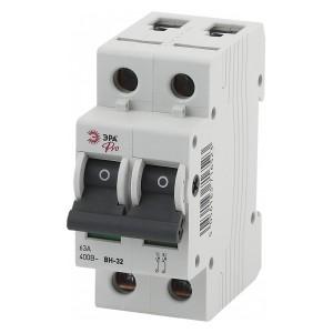 Выключатель нагрузки (мини-рубильник) ВН-32 2P 100A ЭРА Pro (NO-902-164)