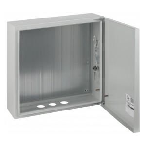 Корпус навесной металлический с монтажной панелью ЭРА ЭКО СТМ ЩМП-05 IP31 (400х400х175)5056306021404