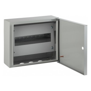 Корпус навесной металлический с DIN-рейками (1х12м)ЭРА ЭКО СТМ ЩРН-12 IP31(250х300х120)5056306021572
