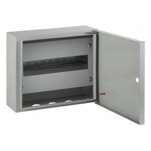 Корпус навесной металлический с DIN-рейками (1х18м)ЭРА ЭКО СТМ ЩРН-18 IP31(400х300х120)5056306021589