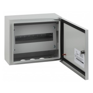 Корпус навесной металлический с DIN-рейками(1х12м)ЭРА ЭКО СТМ ЩРНг-12 IP54(250х300х125)5056306016325