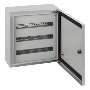 Корпус навесной металлический с DIN-рейками(3х12м)ЭРА ЭКО СТМ ЩРНг-36 IP54(485х305х125)5056306018879