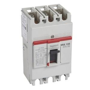 Автоматический выключатель в литом корпусе DRX125 термомагнитный фиксированный 3P 63А 10kA (автомат)