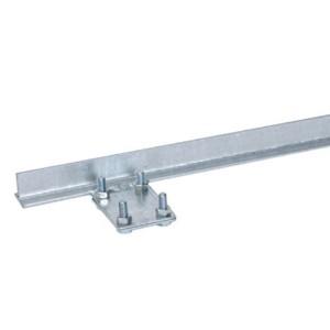 Вертикальный заземлитель т-образный DKC горячеоцинкованная сталь 30х30х30х4 мм, 2 м