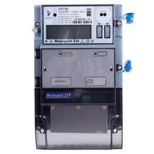 Электросчетчик Меркурий 234 АRTM-01PBR.G 5-60А 220/380В многотарифный ЖКИ GSM 1xRS485