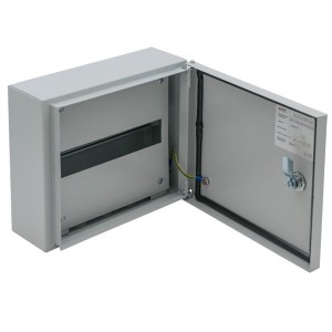 Щит распределительный навесной (1х12м) ЩРН-12-265х310х120 (ЩРН-12) IP54 герметичный EKF PROxima