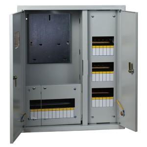 Щит учетно-распределительный встраиваемый ЩУРв 3/48 двухдверный (620х660х165) IP31 EKF PROxima