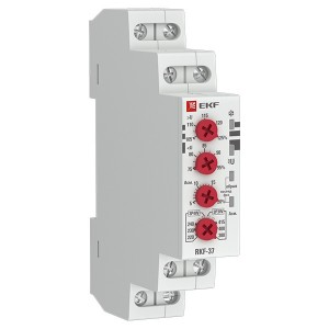 Реле контроля фаз RKF-37 1НО+1НЗ 8А 154-540В 50/60Гц  EKF PROxima