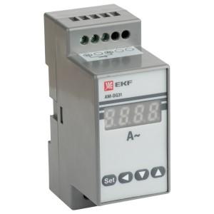 Амперметр AD-G31 цифровой на DIN однофазный EKF PROxima