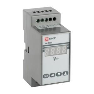 Вольтметр VD-G31 цифровой на DIN однофазный EKF PROxima