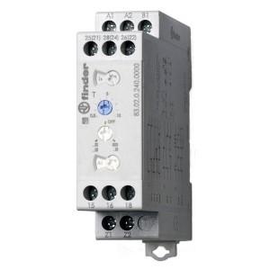Мультифункциональный модульный таймер Finder 2CO 12A  AC/DC 24-240B 0,05cек - 10 дней