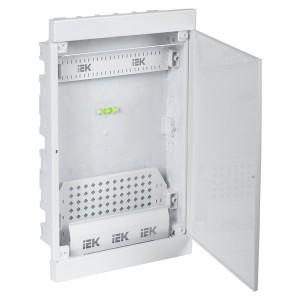 Бокс мультимедийный ЩРВ-П-36 встраиваемый с радиопрозрачной дверью KREPTA Multimedia IP41 ИЭК